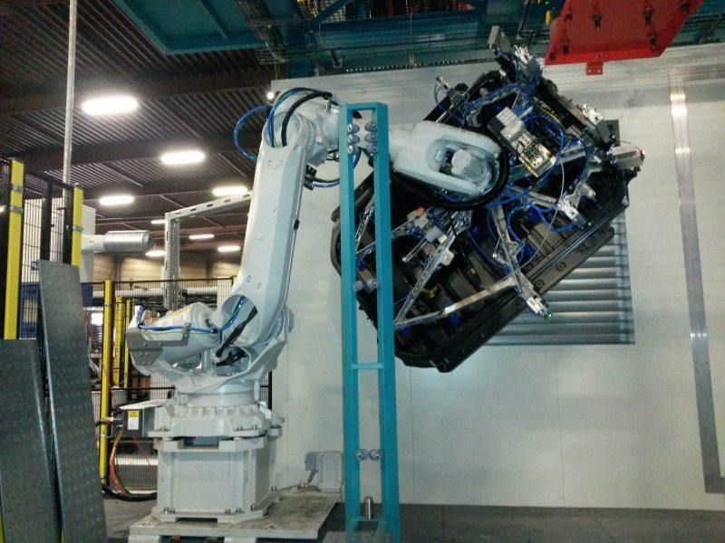 Aluminium Gripper automobielsector