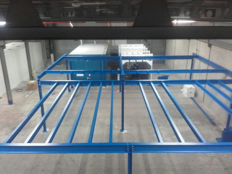 Constructie Railsysteem handmatige laklijn